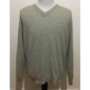 Paolo Mondo Mens 100% 2 Ply Cashmere Sweater